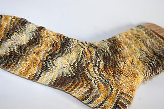 Black eyed susan sock 2