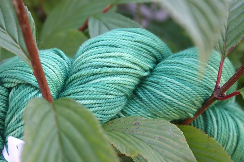 Yarn daze green