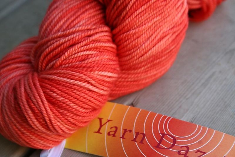 Pomegranate yarn daze