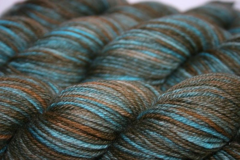 Turquoise a- madtosh worsted 2