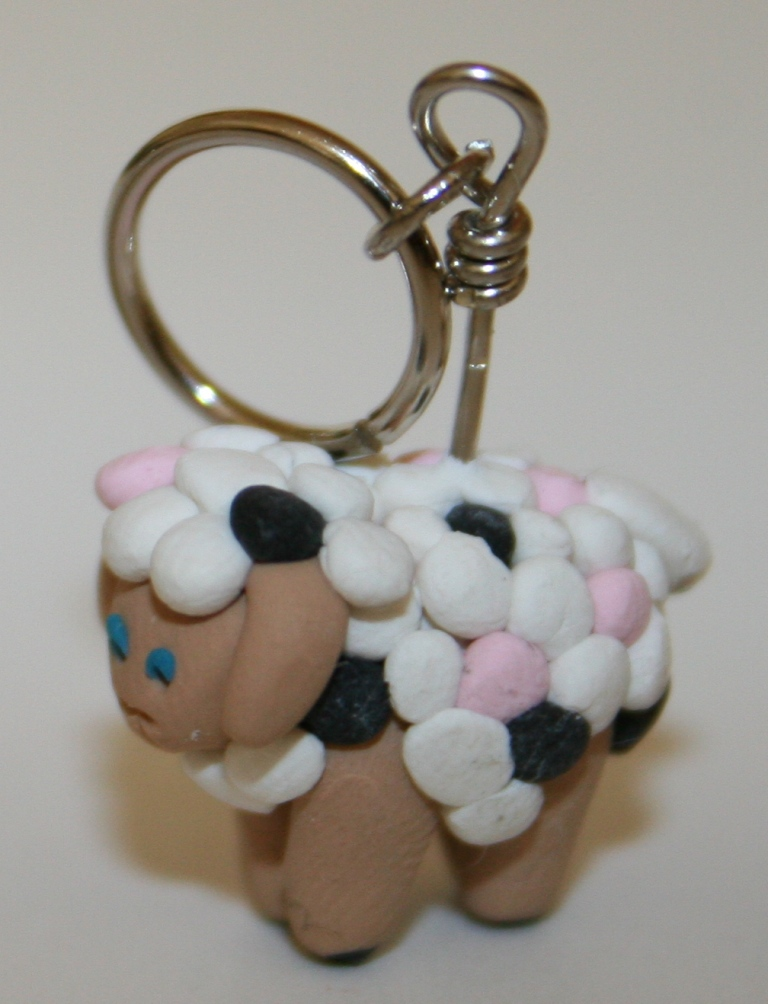 Copy of woolgirl sheep stitch markers - 3