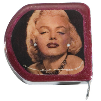 Marilyn monroe tape measure