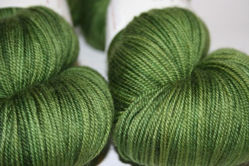 Shady verdant - up close hazel knits2