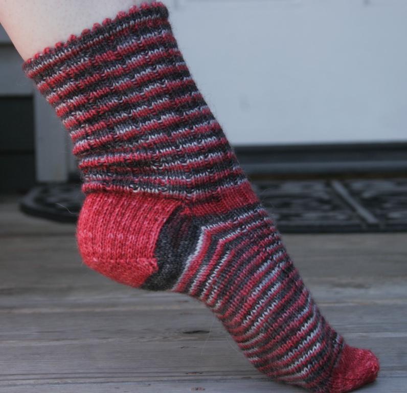 V kiss sock