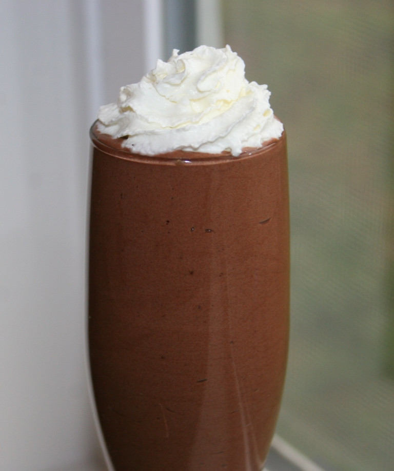 Chocolate mousse - blog 3