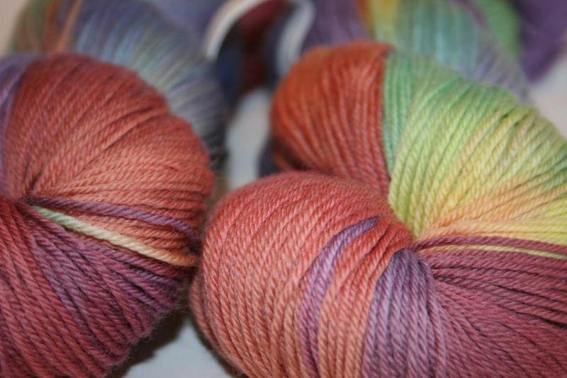 Colorsong - perfect sock up close