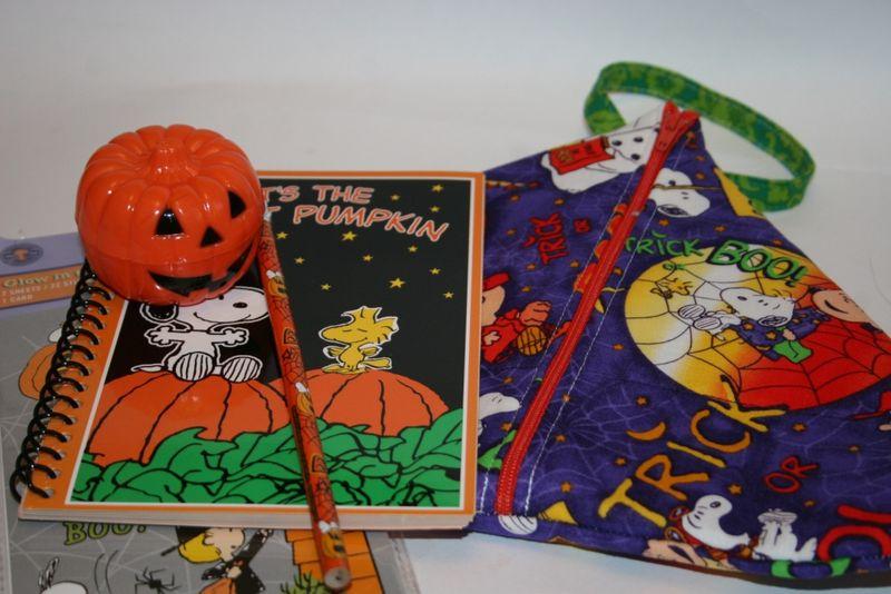 Charlie brown knitting bag kit