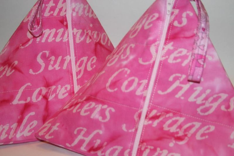 Breast cancer - courage survive bag