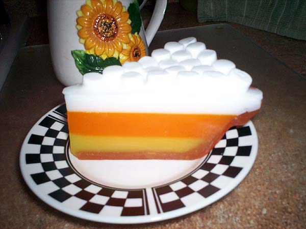 Candy Corn pie