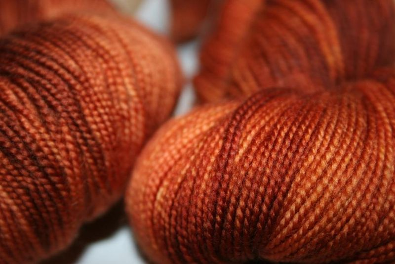 Ferrous - wool candy up close